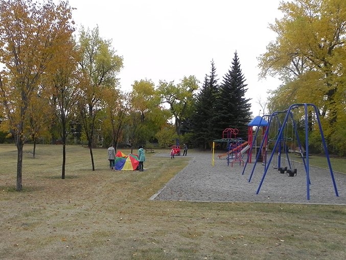 The park we go to near the school
